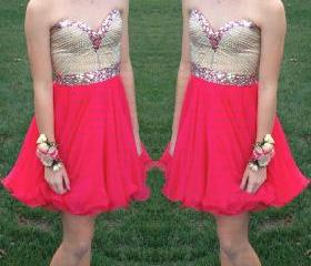 red homecoming dresses, short homecoming dresses, cute homecoming dresses, cheap homecoming dresses, prom dress online, CM623