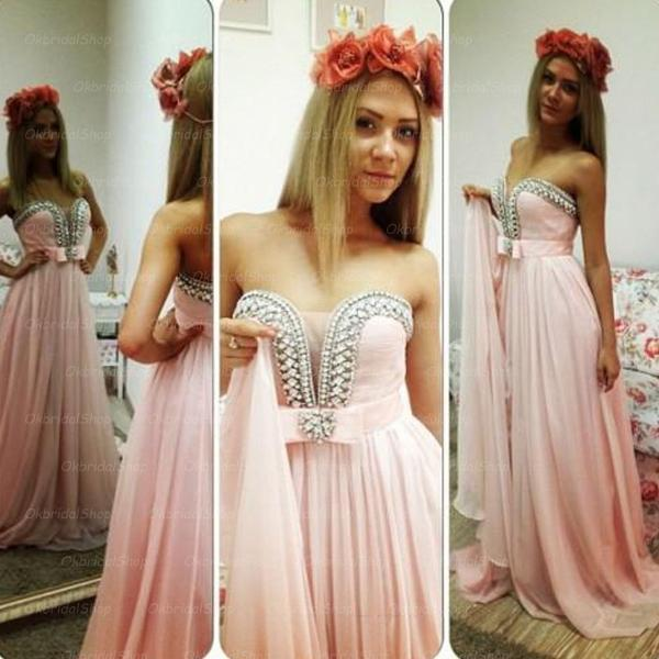 pink prom dresses, formal prom dress, sexy prom dresses, sequin prom dresses, 2015 prom dresses, sexy prom dresses, dresses for prom, CM235