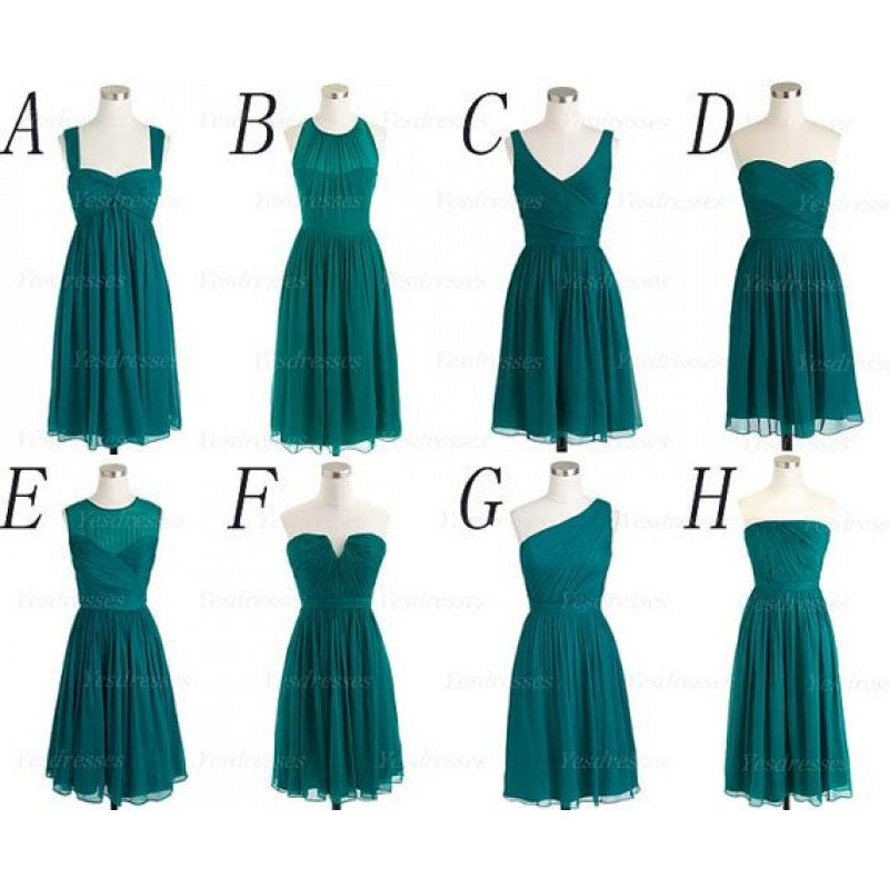 Teal bridesmaid dresses mismatched bridesmaid dresses for Teal dress for wedding